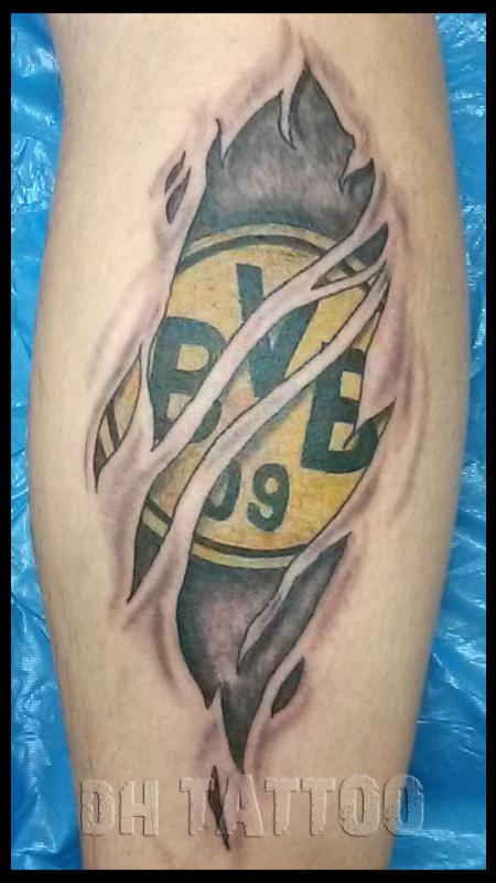 Handwerk Wappen Stadion Fussball Tattoos Tattoo