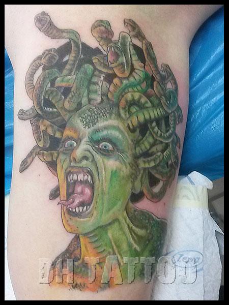 monster d mon zombie vampir tattoos tattoo. Black Bedroom Furniture Sets. Home Design Ideas